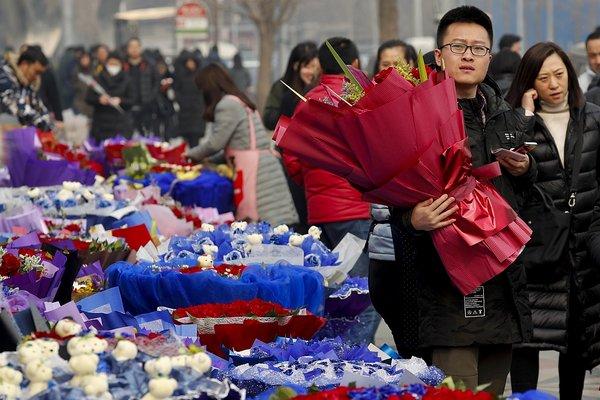 Valentinovo na Kitajskem