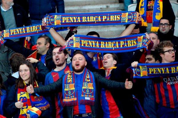 Navijači PSG Barcelona