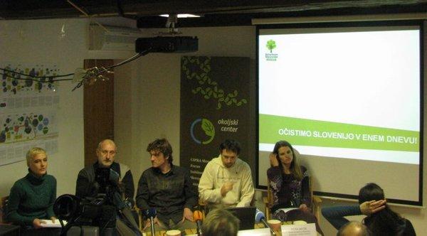 novinarska konferencabrdruštva Ekologi brezbrmeja
