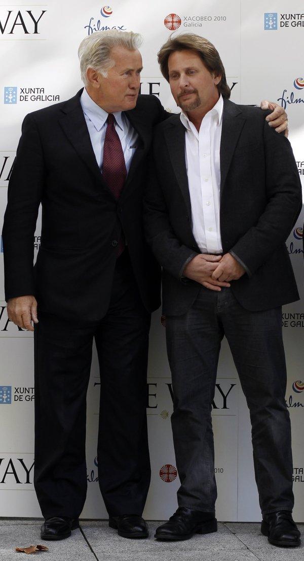 Martin Sheen in Emilio Estavez