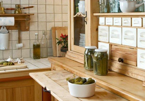 Kuhinja v lesu