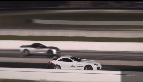 Najhitrejši mercedes na svetu - 2