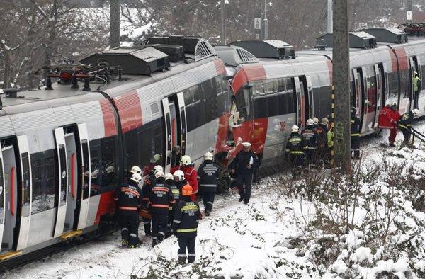 Trčenje vlakov na Dunaju