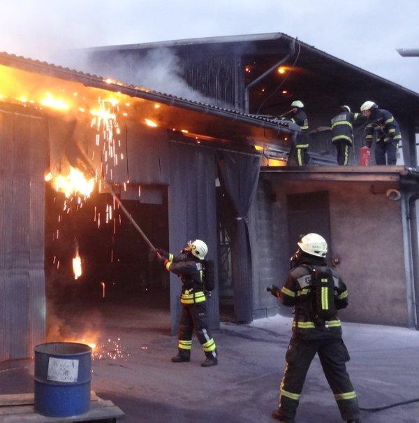 Požar v Rušah - 1