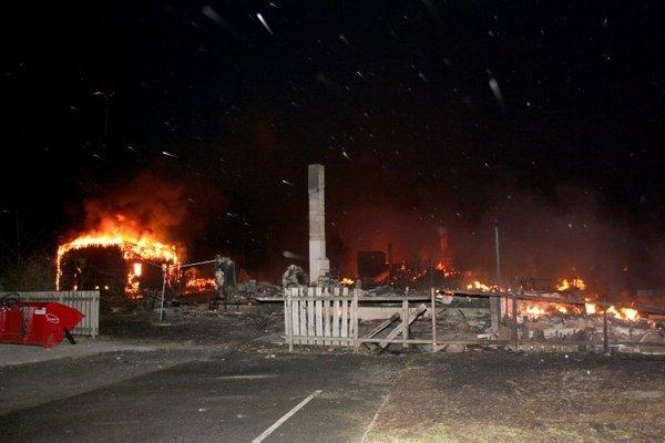 Požar na Norveškem