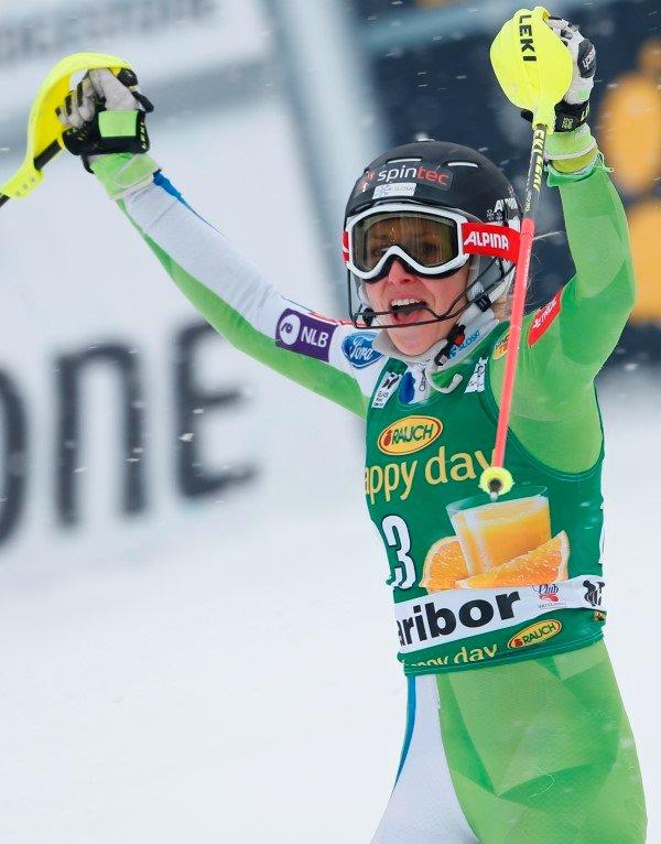 Ana Bucik slalom Zlata lisica
