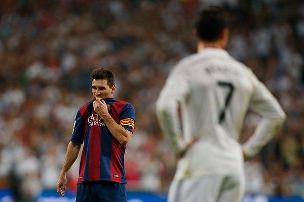 Cristiano Ronaldo in Lionel Messi