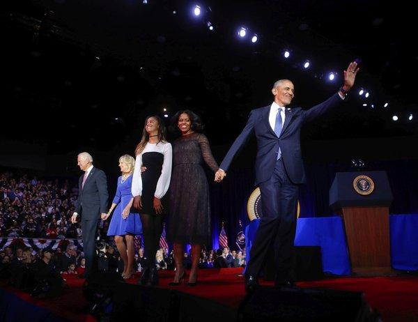 Družina Obama