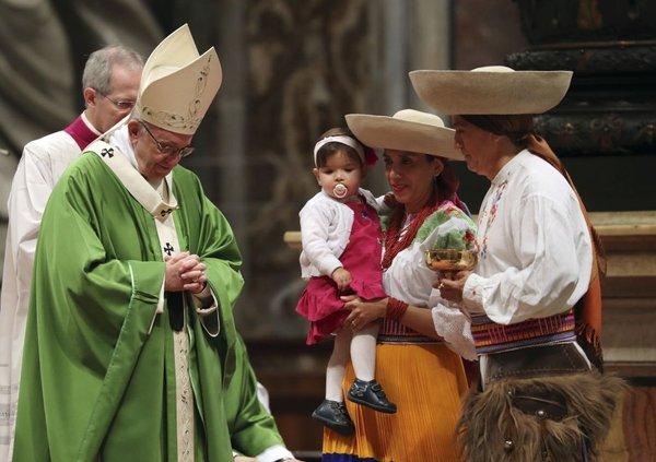 Papež Frančišek na svetovni dan migrantov