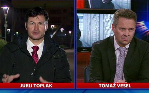 Jurij Toplak in Tomaž Vesel