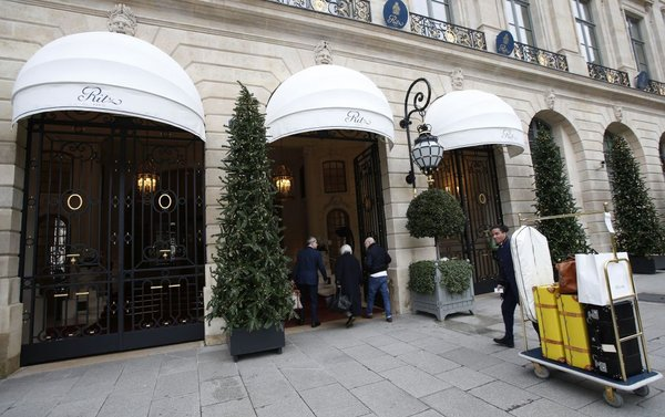 hotel Ritz v Parizu