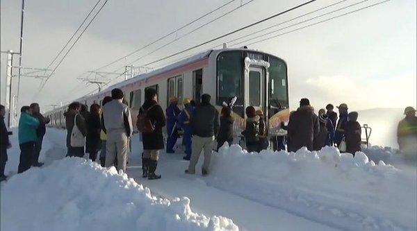 Sneg na Japonskem