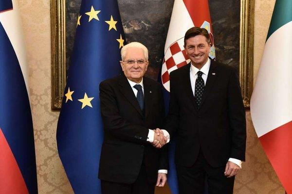 Pahor in Mattarella