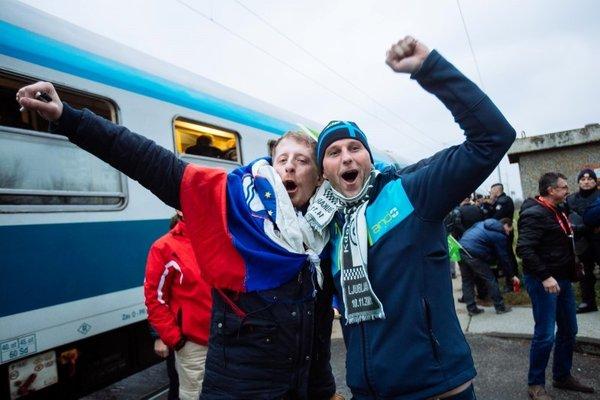 Slovenski navijači prispeli v Zagreb - 18