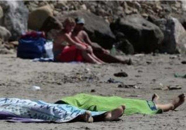 Mrtve Romkinje na plaži
