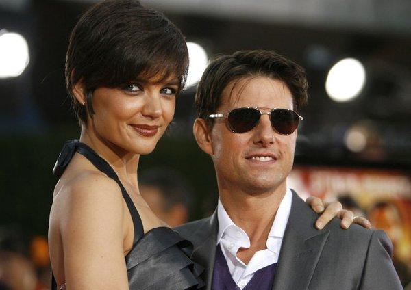 Tom Cruise in Katie Holmes