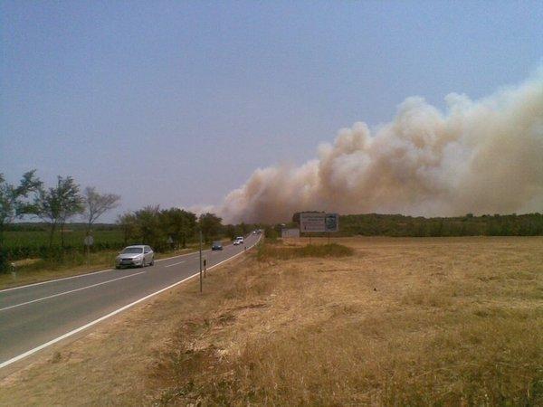 Požar pri Medulinu - 1