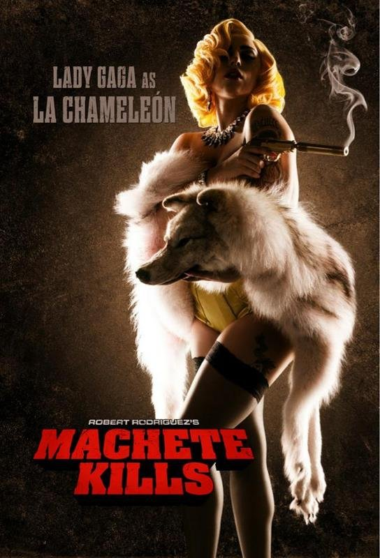 Lady Gaga v filmu Machete Kills