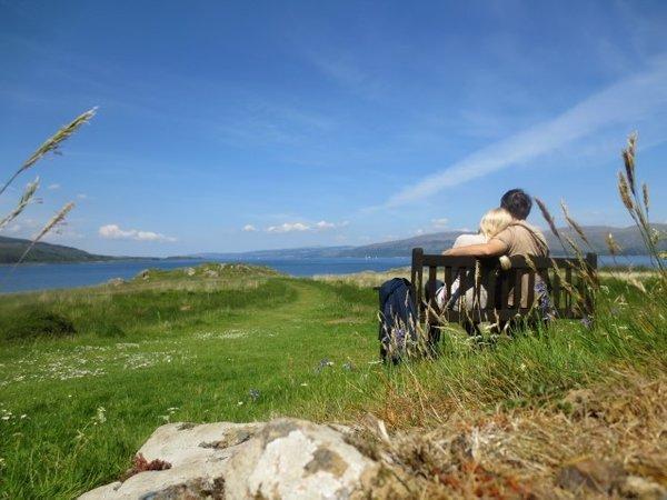 Ana kuha (Ana Kristanc) na poročnem potovanju na Škotskem - 4