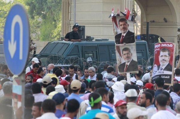 Protest Mursijevih podpornikov v Egiptu - 4