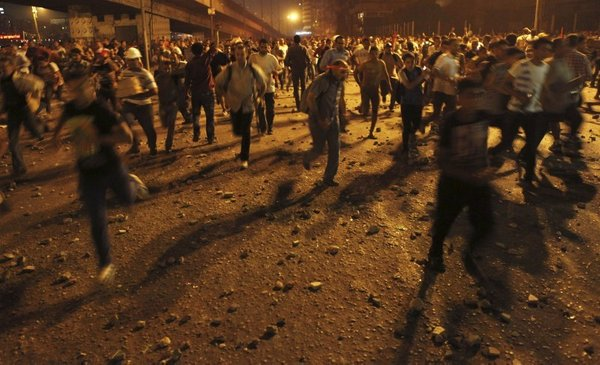 Spopadi med Mursijevimi podporniki in nasprotniki - 13