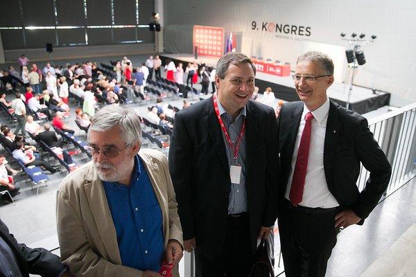 Dušan Kumer, Dejan Židan in Igor Lukšič