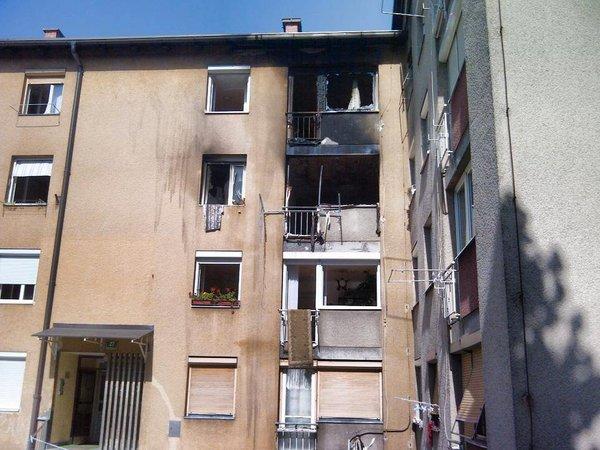 Pogorelo stanovanje