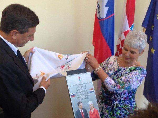Borut Pahor in Jadranka Kosor