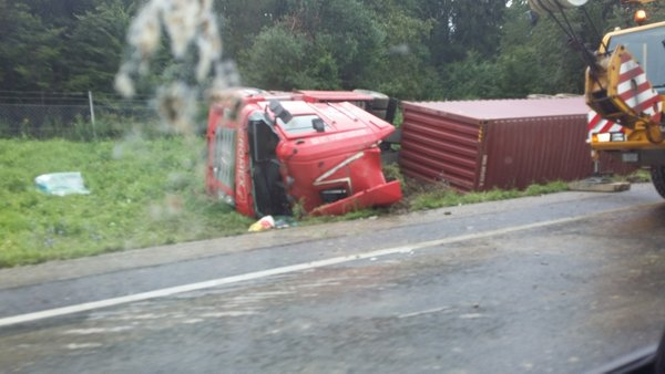 Prometna nesreča na štajerski avtocesti