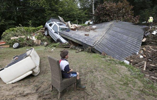 Poplave v Belgiji