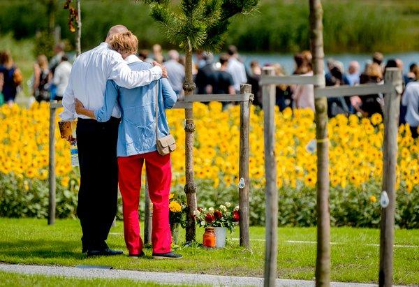 Odprtje spomenika žrtvam letala MH17 - 7
