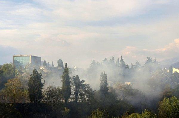 dim nad Podgorico