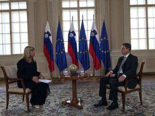 Intervju z Mirom Cerarjem za Novo TV