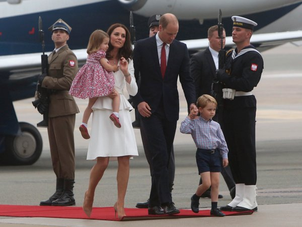 Princ William, Kate na Poljskem - 8