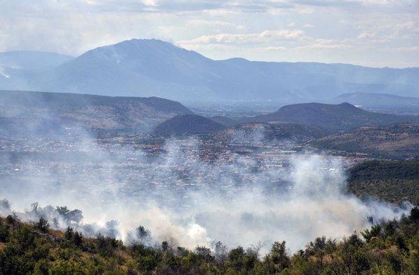Požar v Črni gori