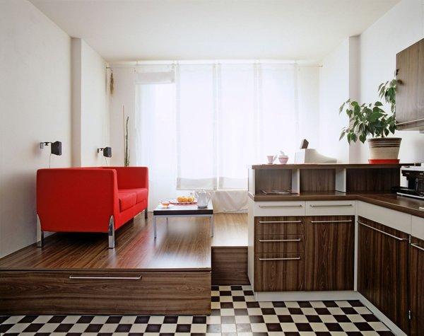 Dnevni prostor in kuhinja