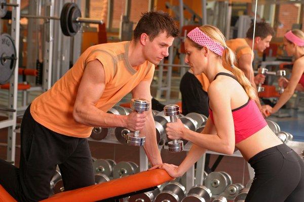 Par v fitnesu