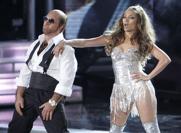 Jennifer Lopez in Tom Cruise kot Les Grossman