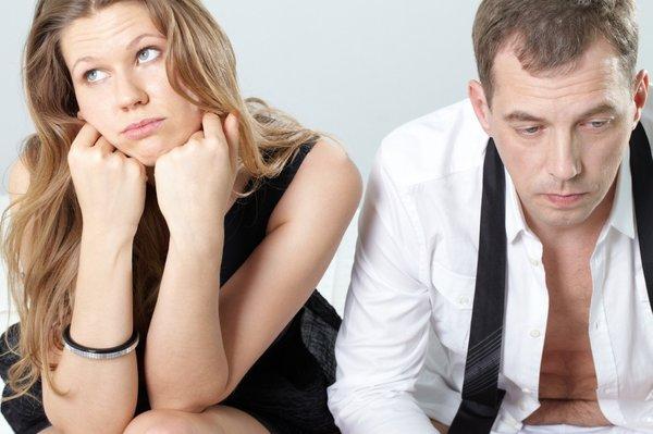 nesrečen par