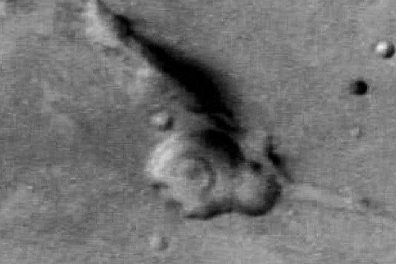 Gandijeva glava na Marsu - 1