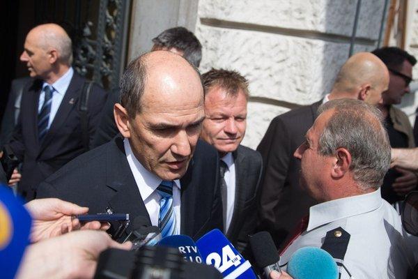 Janša po sojenju v zadevi Patria - 4