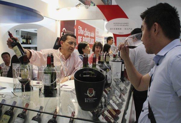 Francosko vino na Kitajskem