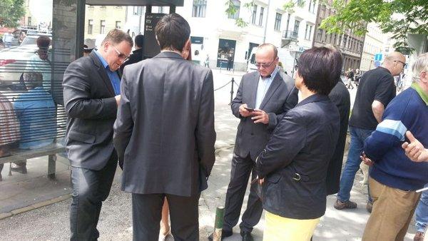 Vinko Gorenak pred sodiščem v Ljubljani