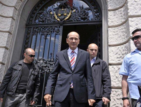 Janez Janša pred sodiščem