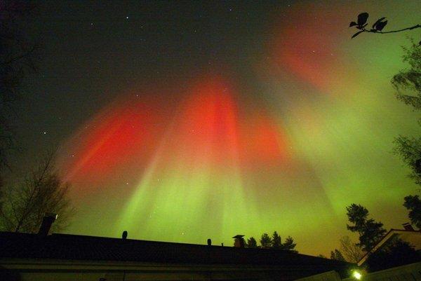 Aurora na Finskem leta 2003