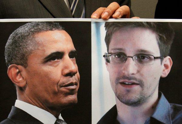 Snowden in Obama
