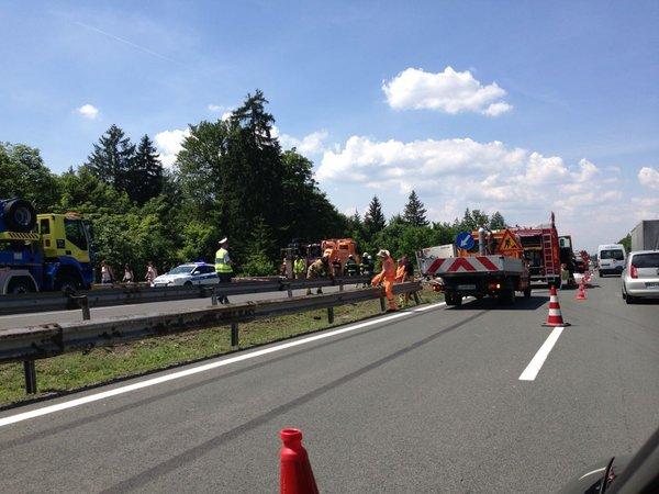 Nesreča na primorski avtocesti - 6