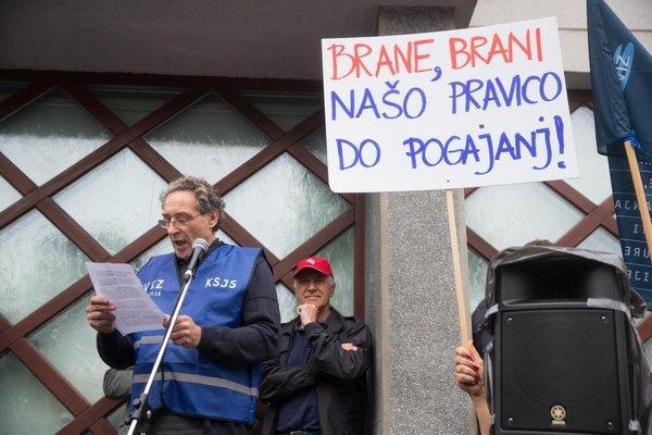 Protest sindikatov - 9