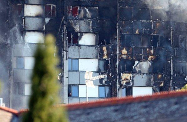 Požar v Londonu - 2
