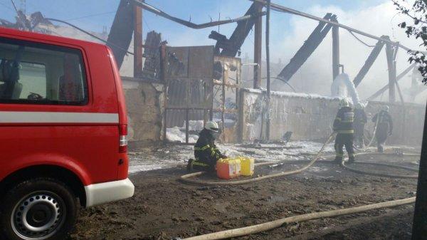 požar v podjetju Eko Plastkom v Ljutomeru - 3